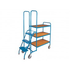 3 Shelf Low Order Picking Trolley BC52